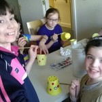 Decorating Plant Pots M&As Easter Camp 2014