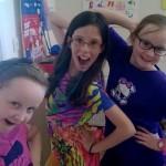 Girls enjoying M&As Easter Camp in Tullamore