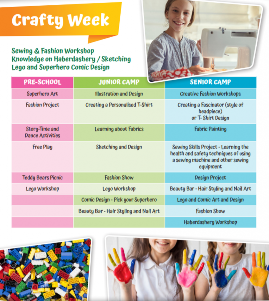 6th - 9th August 2019 - Crafty Week